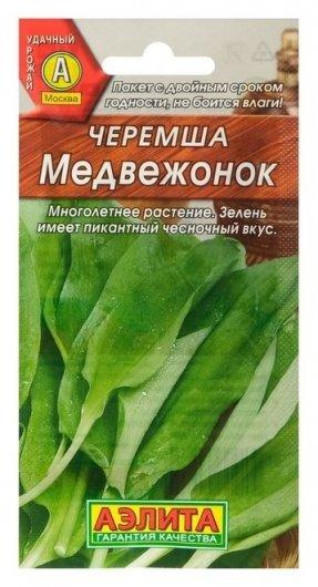 Семена черемша Медвежонок, 0,5 г Аэлита