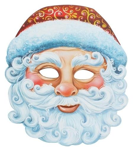 Маска карнавальная «Дед мороз»  Страна Карнавалия