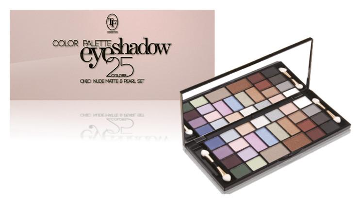 Набор теней Color palette eyeshadow 25 часов Триумф