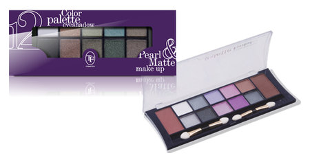 Набор теней Color palette eyeshadow Триумф