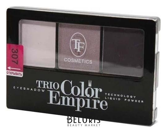 Купить Тени для век Триумф, Тени для век тройные Trio Color Empire , Китай, Тон 307 (Аметистовый)