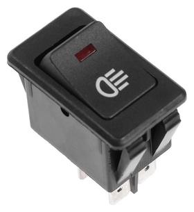 Кнопка - выключатель, с подсветкой