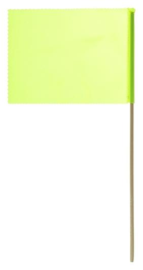 Флажок, длина 40 см, 15 × 20, цвет салатовый  NNB