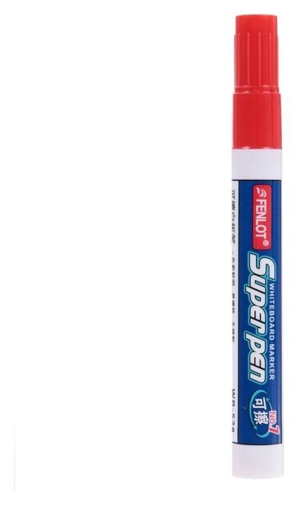 Маркер для магнитно-маркерной доски круг 2,8мм красный  NNB