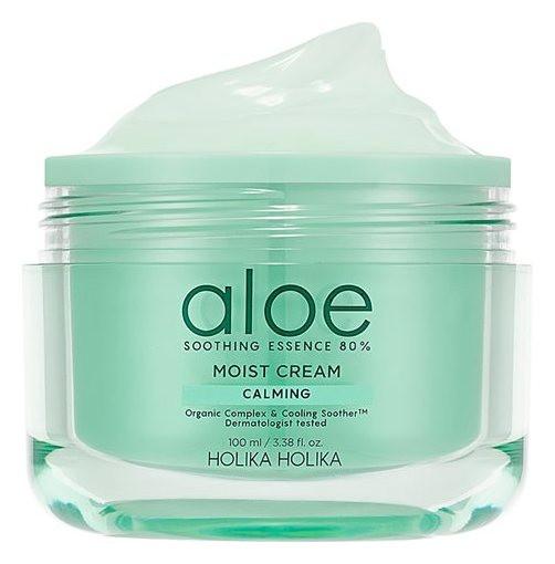Увлажняющий крем для лица Aloe Soothing Essence 80%  Holika Holika