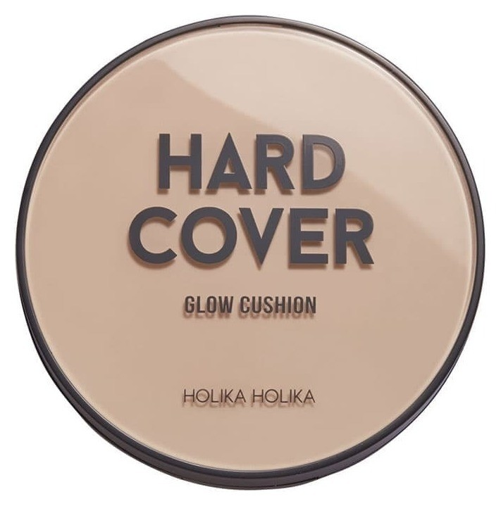 Кушон + рефил для лица Hard cover glow cushion Holika Holika