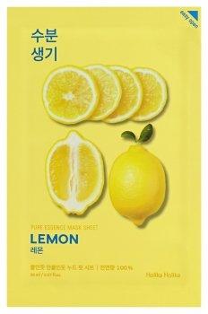"""Тонизирующая тканевая маска """"Pure Essence Mask Sheet Lemon"""" лимон"""