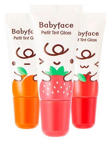 """Блеск-тинт для губ """"Babyface Petit Tint Gloss""""  It's Skin"""