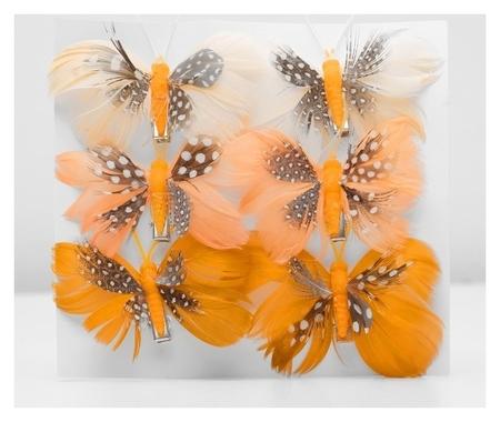 Декор бабочка 8 х 6 х 1 см  NNB
