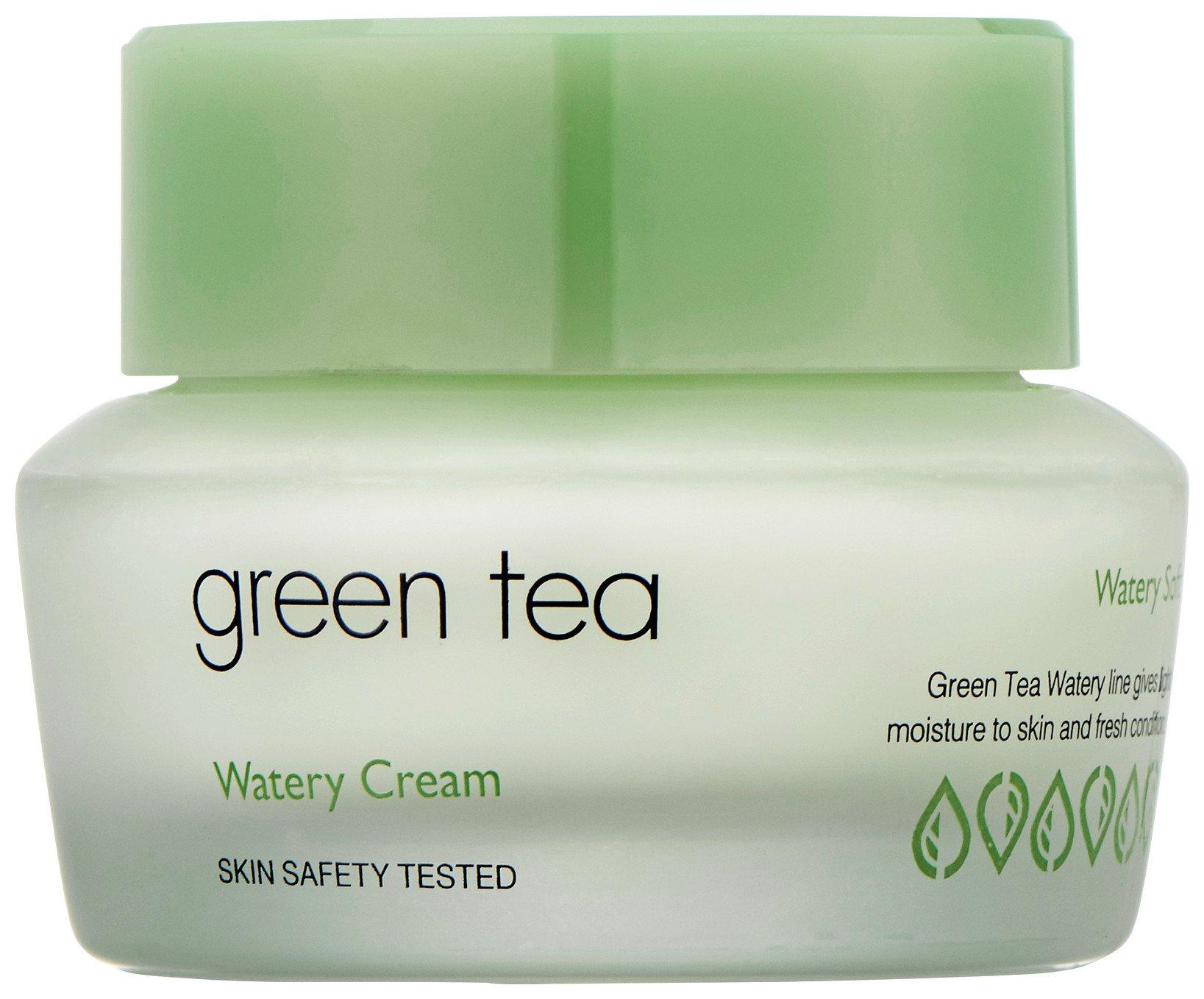 """Крем для жирной и комбинированной кожи """"Green Tea Watery Cream""""  It's Skin"""