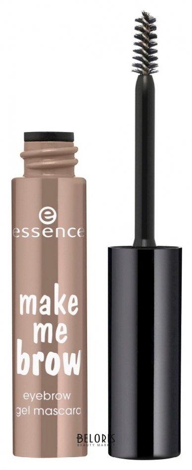 Купить Тушь для бровей Essence, Гелевая тушь для бровей Make me brow eyebrow gel mascara , Германия, Тон 01 Светло-коричневый
