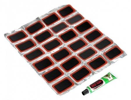 Резиновые заплатки для ремонта шин, набор 24 шт  NNB