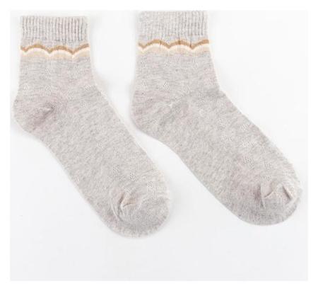 Носки женские Collorista, цвет серый, размер 38-40 (25 см)  Collorista