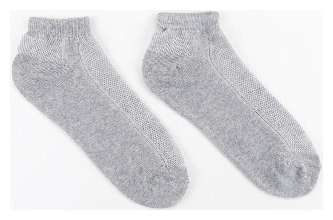 Носки женские Collorista, цвет серый, размер 36-37 (23 см)  Collorista