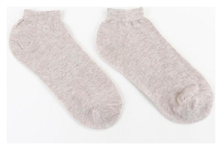 Носки женские Collorista, цвет бежевый, размер 36-37 (23 см)  Collorista