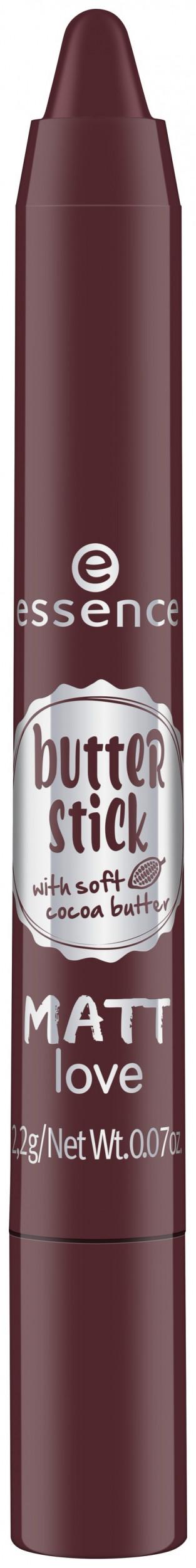 Губная помада в стике Butter stick matt love Essence