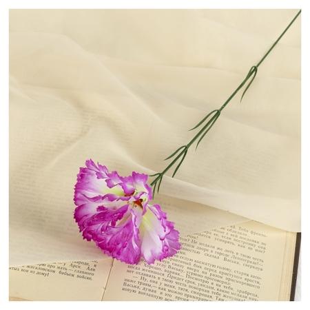 Цветы искусственные гвоздика 37 см сиреневы  NNB