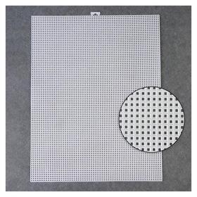 Канва для вышивания, 26 × 34 см, цвет белый  Арт узор