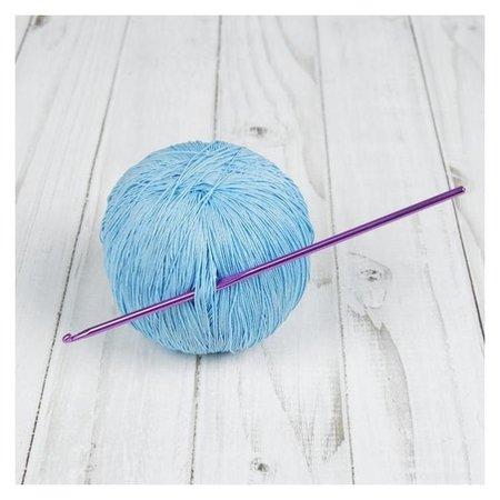 Крючок для вязания, D = 3 мм, 15 см  Арт узор
