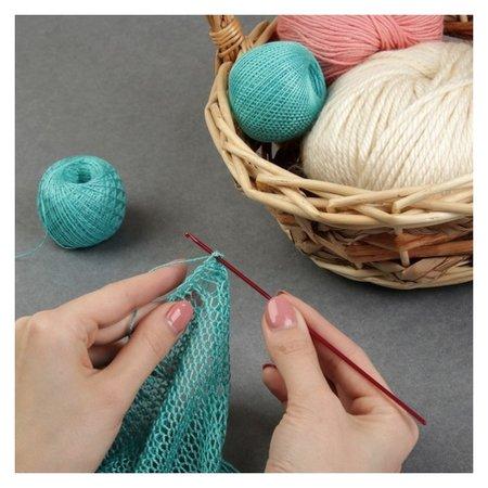 Крючок для вязания, D = 2 мм, 15 см  Арт узор