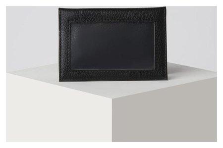 Обложка для автодокументов, с окошком, цвет чёрный NNB