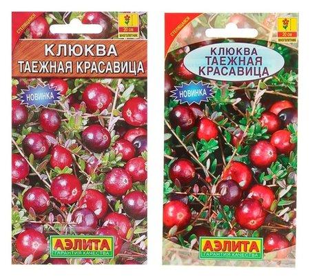 Семена клюква крупноплодная Таежная красавица, 0,02 г Аэлита
