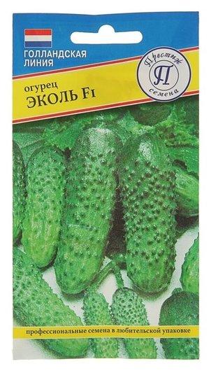 """Семена огурец """"Эколь"""" F1, раннеспелый, партенокарпический, 10 шт  Престиж семена"""
