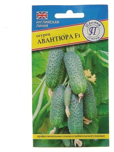 Семена огурец Авантюра F1, ультраранний, партенокарпический, 7 шт Престиж