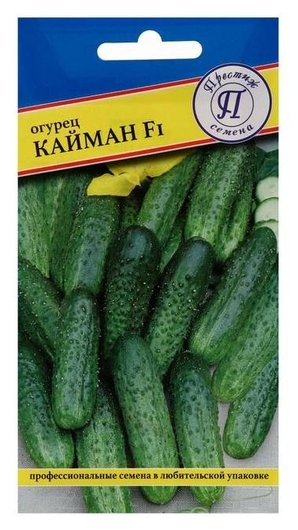 "Семена огурец ""Кайман"" F1, раннеспелый, партенокарпический, 5 шт  Престиж семена"
