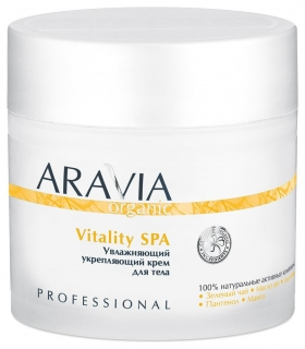 "Увлажняющий укрепляющий крем ""Vitality SPA""  Aravia Professional"