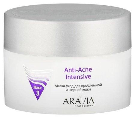 Маска-уход для проблемной и жирной кожи Anti-Acne Intensive  Aravia Professional