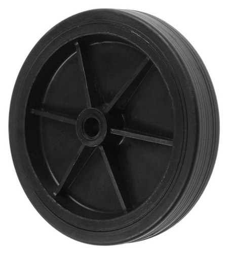Колесо Tundra обрезиненное D=100 мм, черное  Tundra