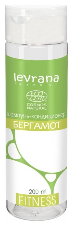 Шампунь-кондиционер для волос Бергамот Levrana Fitness
