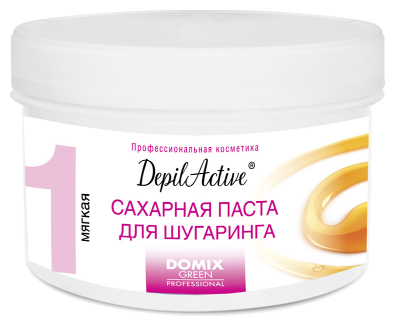 Сахарная паста для шугаринга мягкая DepilActive Domix Green Professional DepilActive
