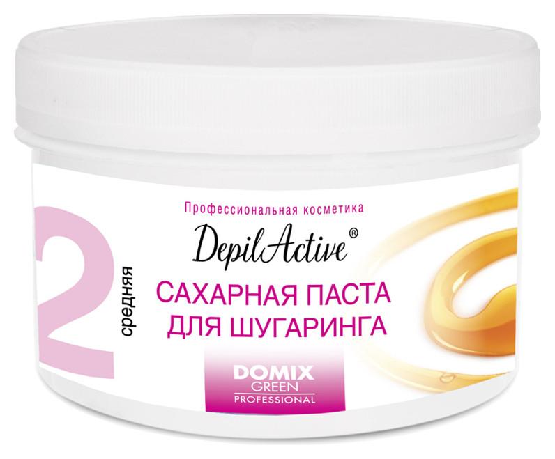Сахарная паста для шугаринга средняя DepilActive Domix Green Professional DepilActive