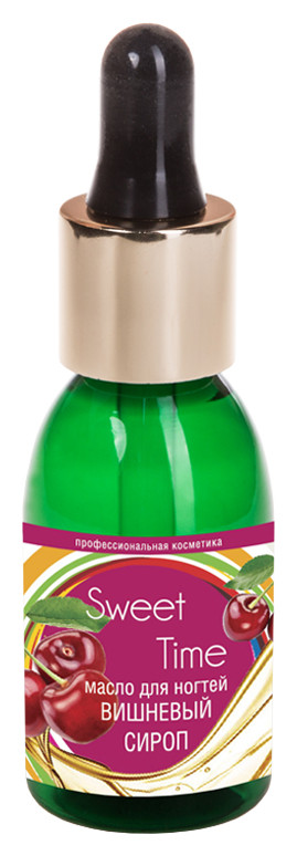 Масло для ногтей Вишневый сироп Domix Green Professional Sweet time