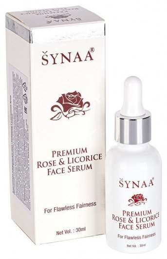 Сыворотка для лица осветляющая с витамином С и ретинолом Synaa