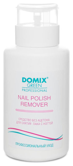 Средство для снятия лака с ногтей без ацетона с помпой Nail polish remover