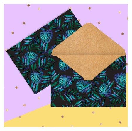 Конверт для денег «Тропики», 16 × 11 см Дарите счастье