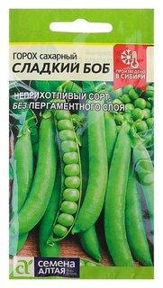 """Семена горох """"Сладкий боб"""", скороспелый, цп, 10 г Семена Алтая"""