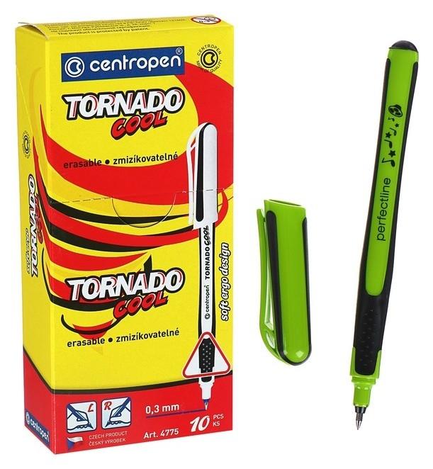 Ручка-роллер Centropen Tornado Cool 4775, 0.3 мм, одноразовая, корпус картонная упаковка Centropen