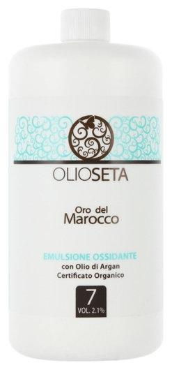 Эмульсионный оксигент с органически сертифицированным аргановым маслом 2,1% Barex Italiana Olioseta Oro Del Marocco