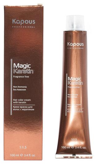 Крем-краска для волос без аммония Non Ammonia Kapous Professional Magic Keratin