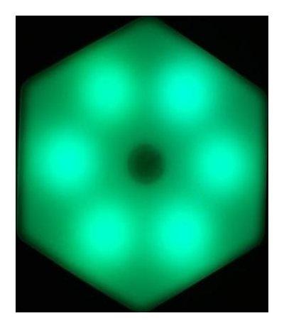 Дополнительный модуль для наборов Соты с пультом, 85х75мм, Rgb, 3*ааа (Не в компл.) NNB