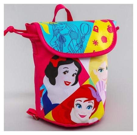 Рюкзак детский, принцессы  Disney
