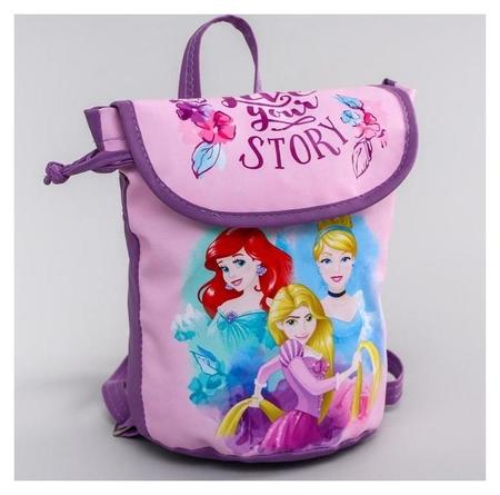"""Рюкзак детский """"Live Your Story"""", принцессы  Disney"""