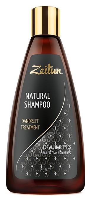 Шампунь для волос с глиной Байлун Против перхоти Zeitun