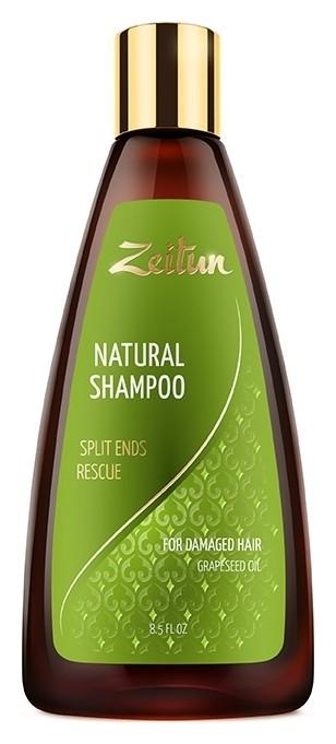 Шампунь для поврежденных волос с маслом виноградной косточки Против сечения волос Zeitun