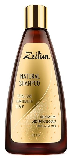 Шампунь для волос с прополисом и амлой Комплексный уход для здоровья кожи головы Zeitun
