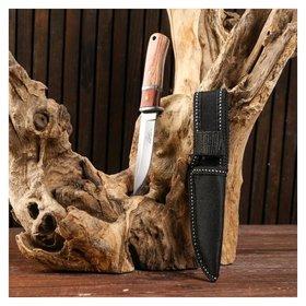 Нож охотничий светлая рукоять, 16см, клинок 8см  Мастер К.